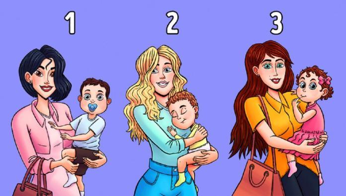 準!直覺選出誰抱的不是自己小孩? 測你的「社交<b>人格</b>」