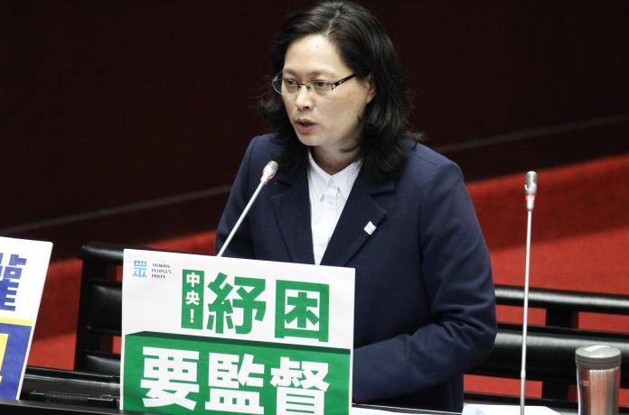 ▲民眾黨立委賴香伶。(圖/記者葉政勳攝 , 2020.02.21)