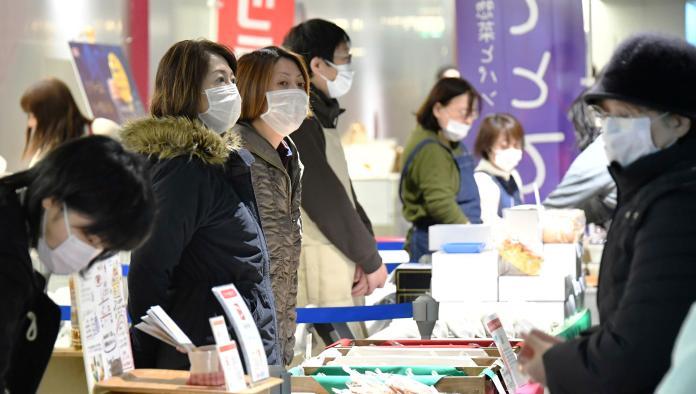 ▲武漢肺炎疫情在日本蔓延。(圖/美聯社/達志影像)