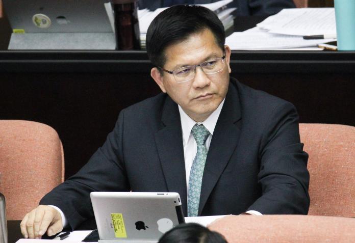 ▲交通部長林佳龍。(圖/記者葉政勳攝 , 2020.02.21)