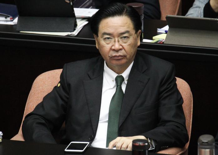 ▲外交部長吳釗燮。(圖/記者葉政勳攝 , 2020.02.21)