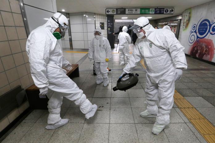 武漢肺炎確診人數激增 即日起韓國升黃色旅遊警示