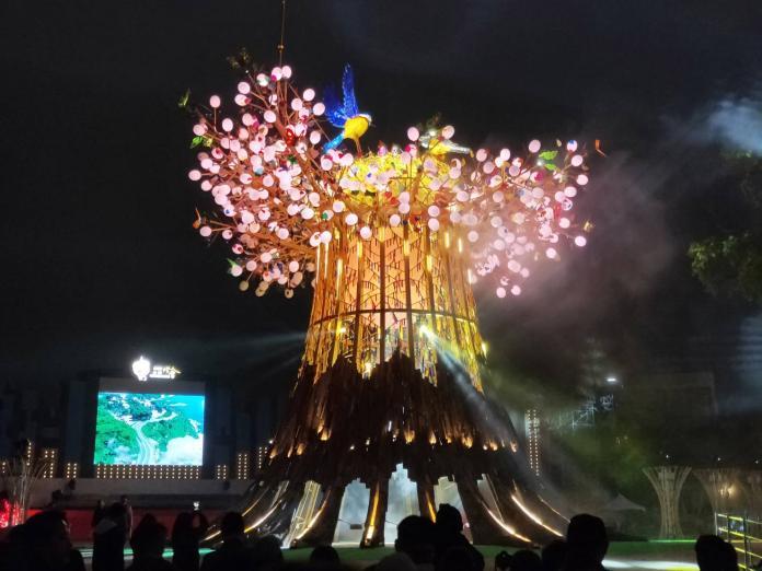 台灣燈會主燈去留 議員:中市府跟中央唱反調