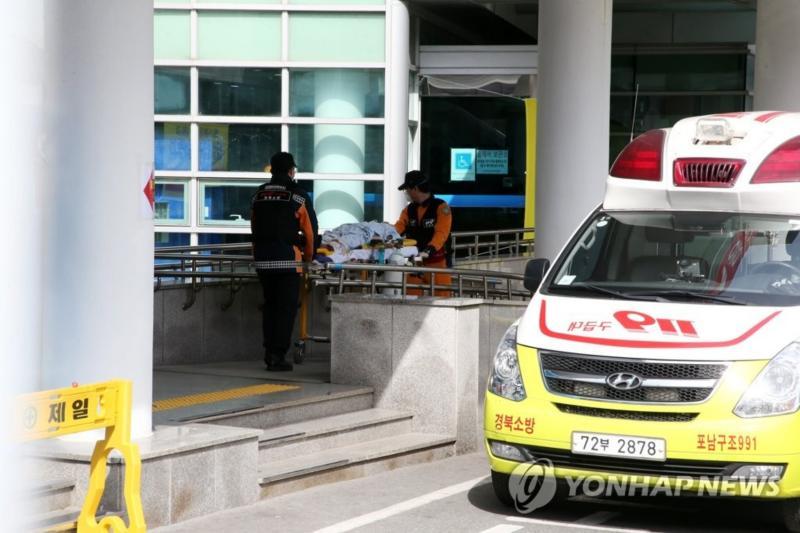 ▲武漢肺炎疫情在韓國迅速蔓延,大邱及慶尚北道更出現社區感染。(圖/翻攝韓聯社)