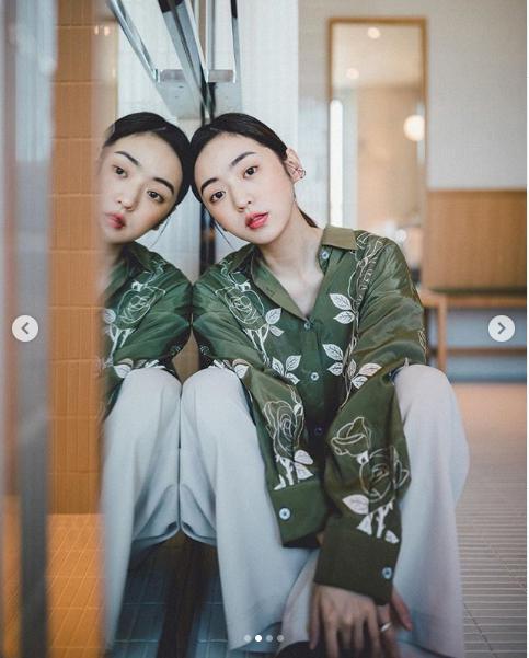 <br> ▲簡婕時常在IG上曬出不同風格的穿搭。(圖/翻攝簡婕IG)