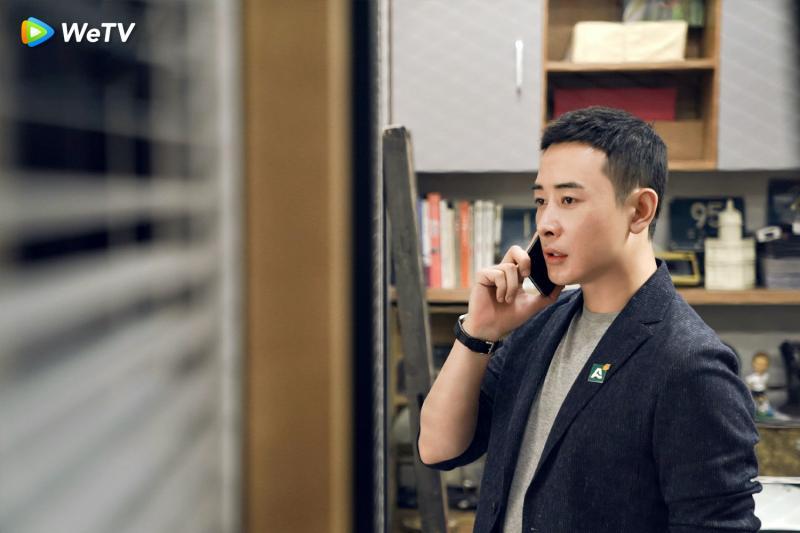 <br> ▲ 羅晉在《安家》飾演佛系店長。(圖/WeTV提供)