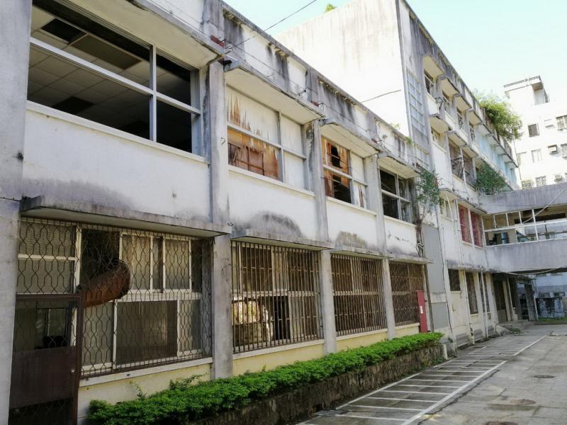 省府教育廳檔案樓閒置荒廢 被形容為「鬼屋」
