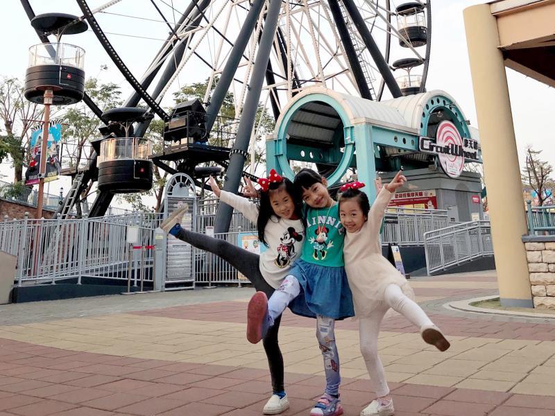 ▲ 為迎接228三天連假,高雄樂園祭出空前優惠要讓大人小孩開心放假。(圖/記者陳美嘉攝)