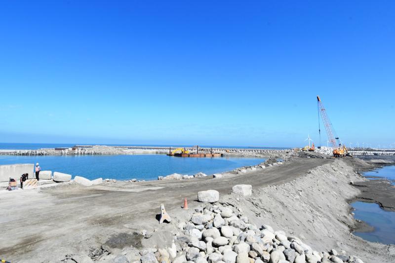 <br> ▲行政院核定彰化漁港近程第一階段建設計畫,投入經費14.42億元。(圖/記者陳雅芳攝,2020.02.26)