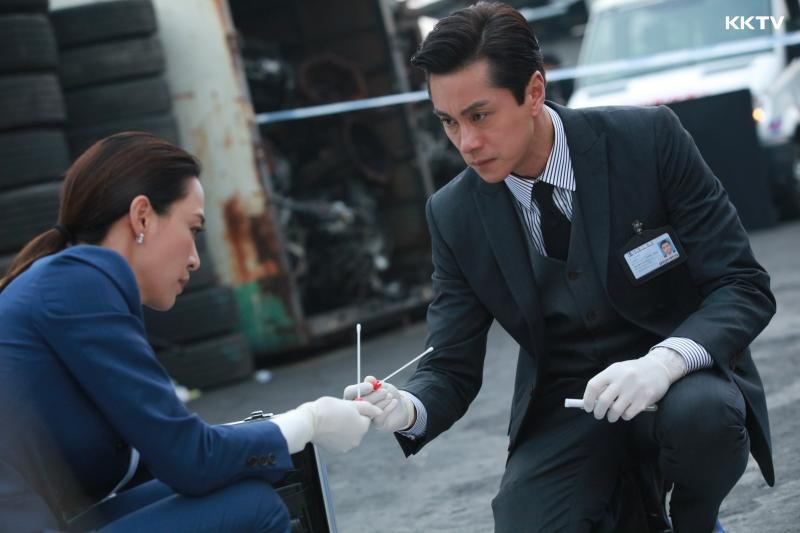 <br> ▲黃浩然在《法證先鋒IV》飾演高級化驗師。(圖 / KKTV提供)