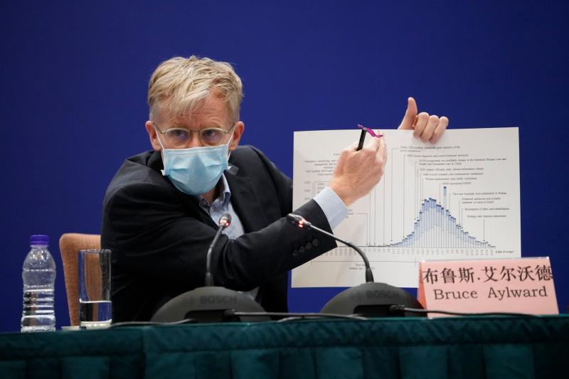 ▲世界衛生組織( WHO )助理總幹事布魯斯·艾沃德( Bruce Aylward )。(圖/美聯社/達志影像)