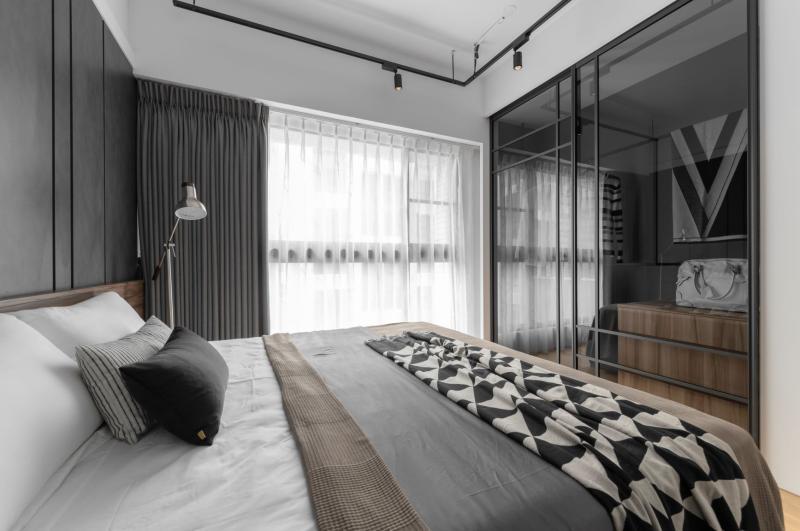 ▲信義居家教三招讓小坪數空間放大設計要點(圖片/南邑室內裝修設計公司提供)。