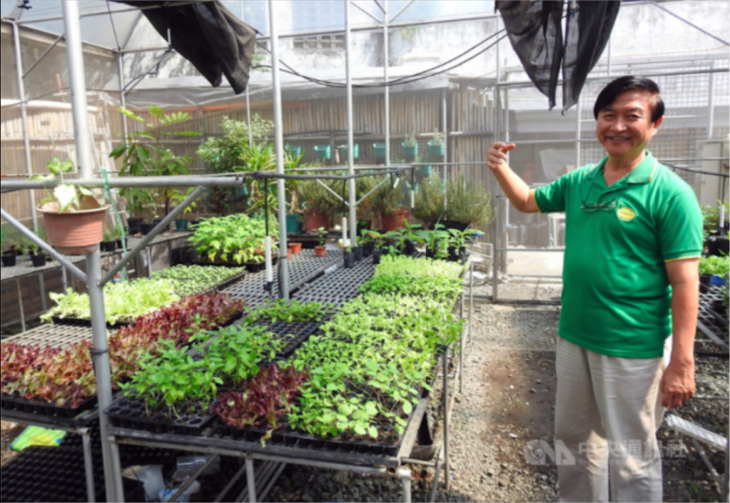 HARBEST AgriBusiness公司創辦人洪宗介是台灣女婿,也是在菲律賓推廣台灣農業技術重要推手。(圖:CNA提供)
