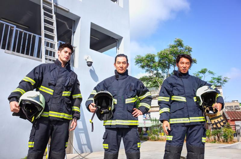 <br> ▲肯納(左起)、任賢齊、李李仁被操到汗流浹背。(圖/東森超視)