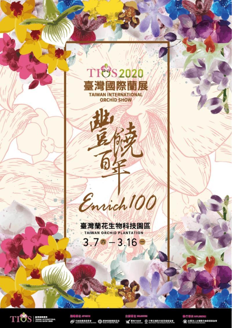 武漢肺炎疫情險峻,台南市長黃偉哲28日宣布,2020台灣國際蘭展延期舉行