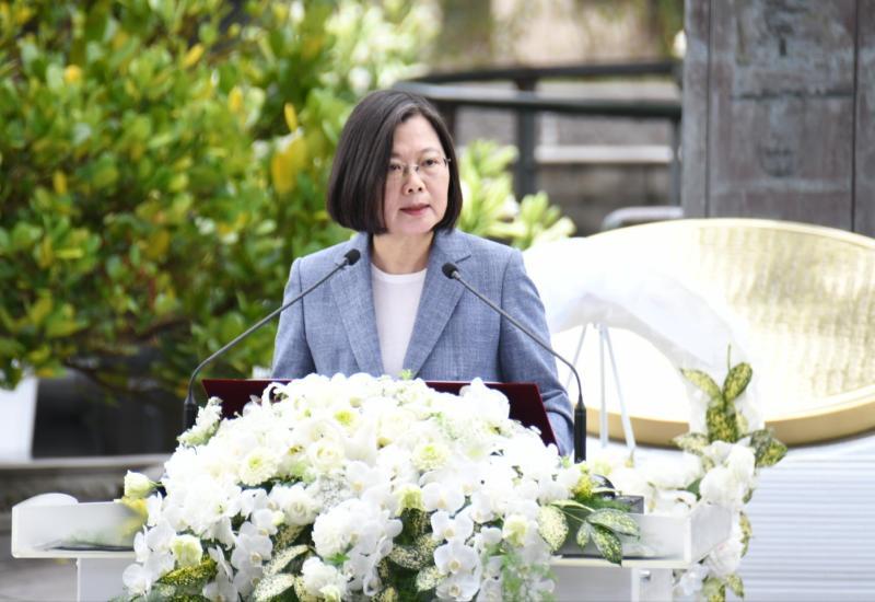 影/<b>228</b>事件七十三周年 蔡英文:台灣歷史會更成熟