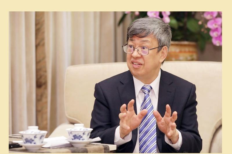 副總統陳建仁。(圖 / 總統府提供)