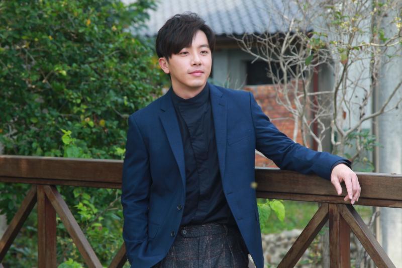▲主演男主角坤達出席《姊妹們 追吧》卡司發佈會。(圖/記者葉政勳攝 , 2020.02.28)