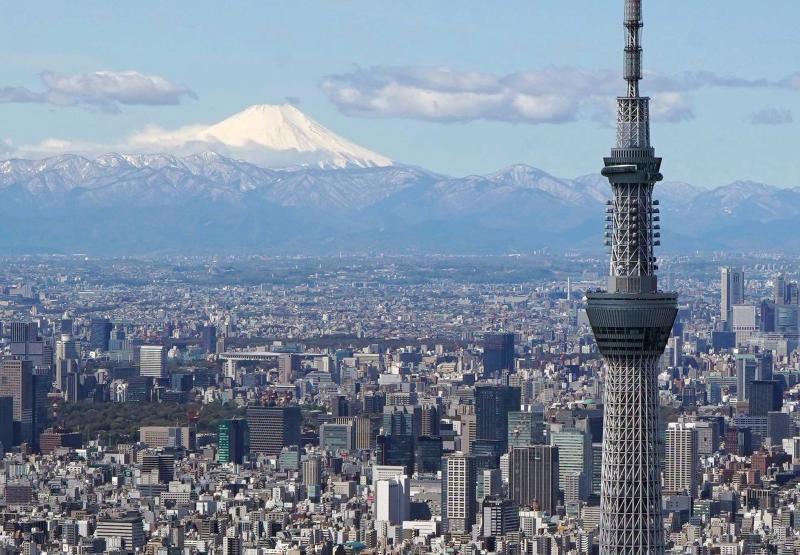 ▲東京晴空塔。資料照。(圖/美聯社/達志影像)