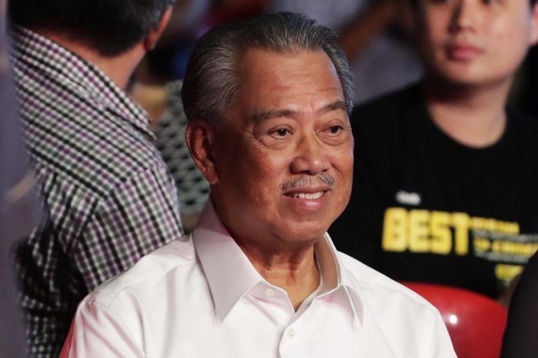 ▲馬來西亞國家元首阿布都拉罕見公然譴責飽受危機打擊的首相慕尤丁(圖中人)政府誤導國會。(圖/翻攝straitstimes)