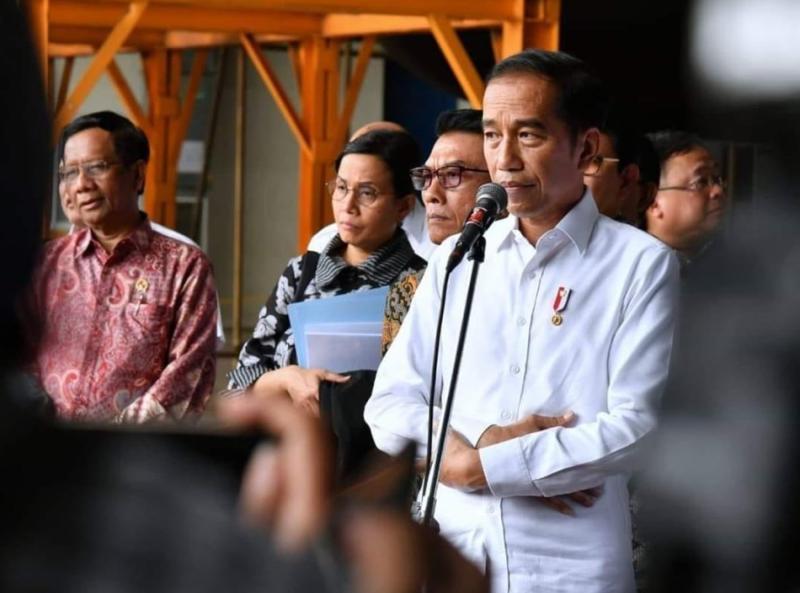 ▲印尼總統佐科威宣布印尼有兩名民眾感染武漢肺炎。(圖/翻攝Indonesia Expat)