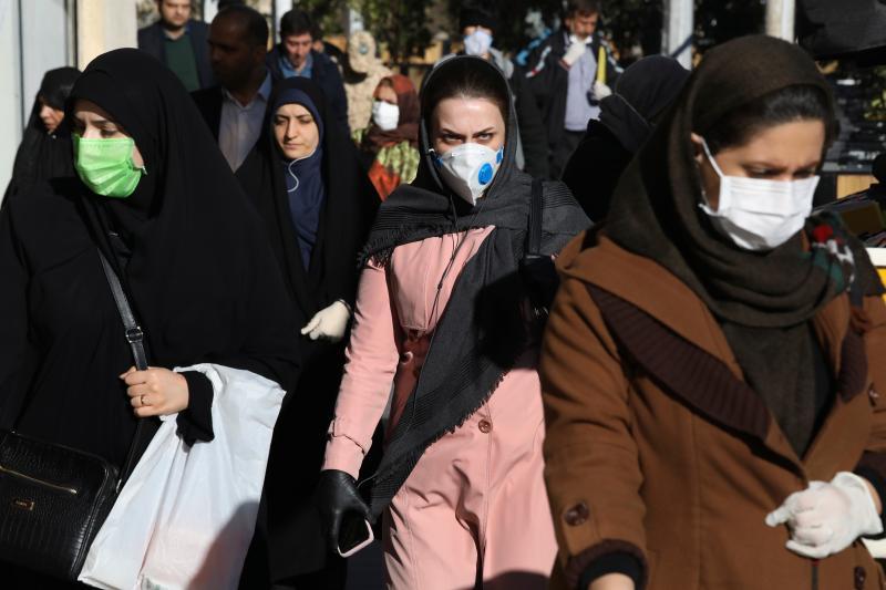 ▲武漢肺炎疫情肆虐全球,圖為近日伊朗德黑蘭。(圖/美聯社/達志影像)