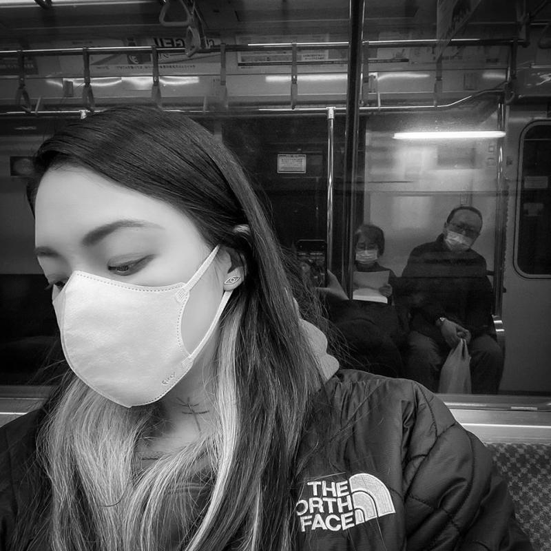 <br> ▲歐陽靖分享日本當地防疫景況。(圖/歐陽靖臉書)