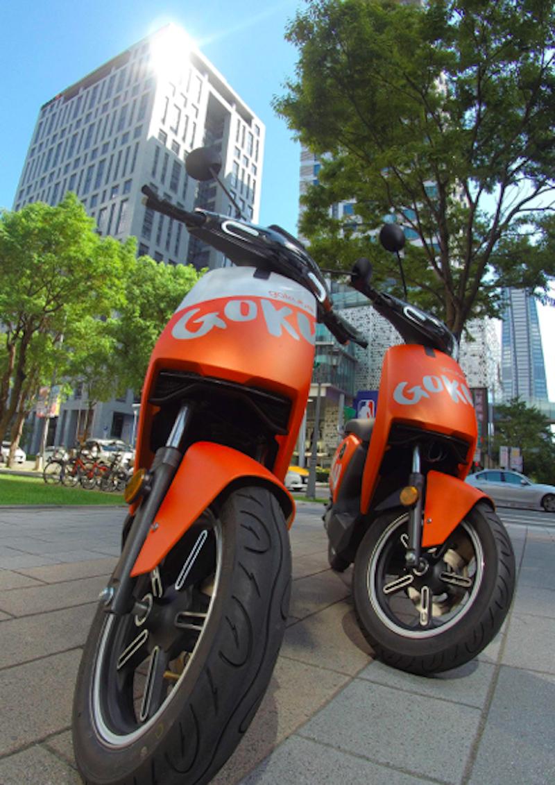 ▲因應武漢肺炎,Gokube也加強消毒車輛,更力挺醫護人員,給予免費騎電動車一個月的優惠。
