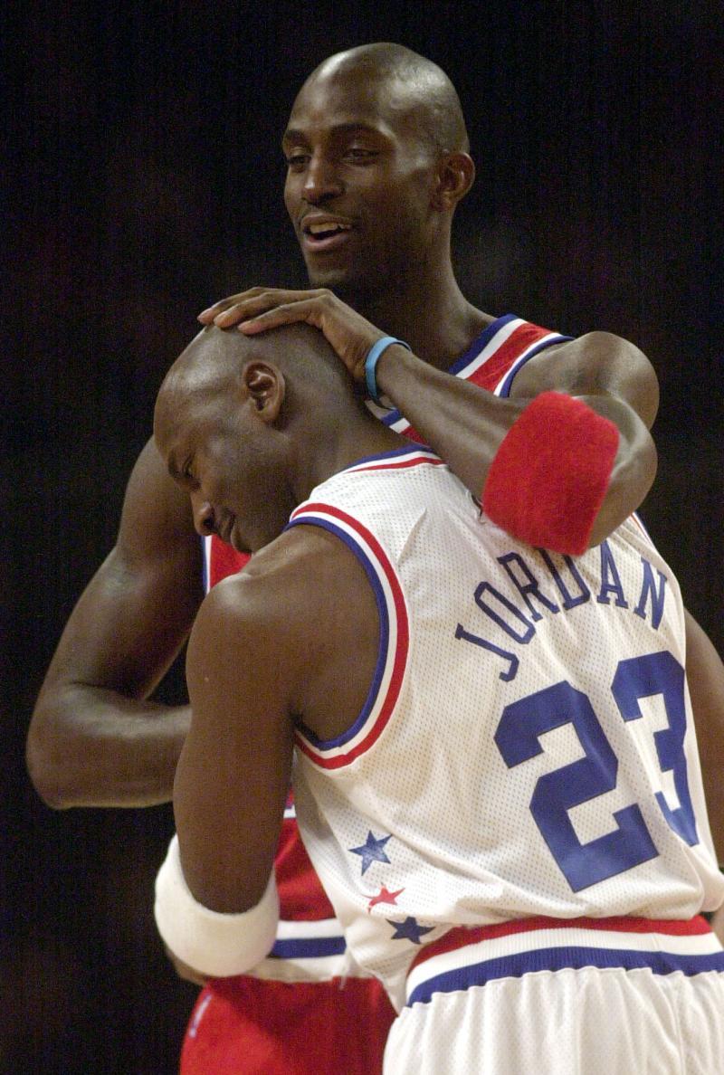 NBA/喬丹變向有多快?賈奈特:我一<b>眨眼</b>他就消失了