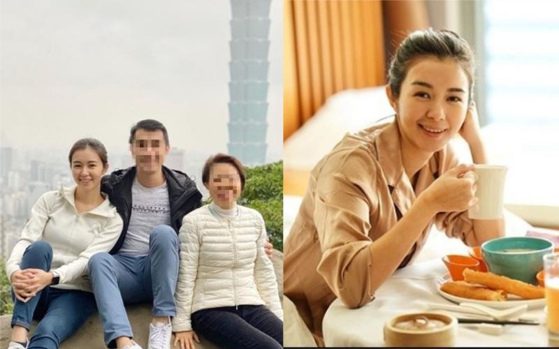 ▲麥明詩(左1)分享和家人同遊象山的合照。(圖/翻攝麥明詩 IG )