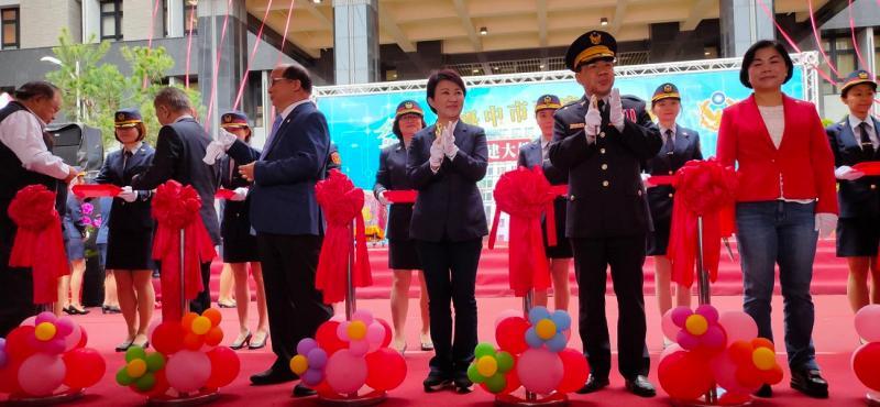 台中市警察局搬新家 <b>潭子區</b>新建大樓今正式揭牌啟用