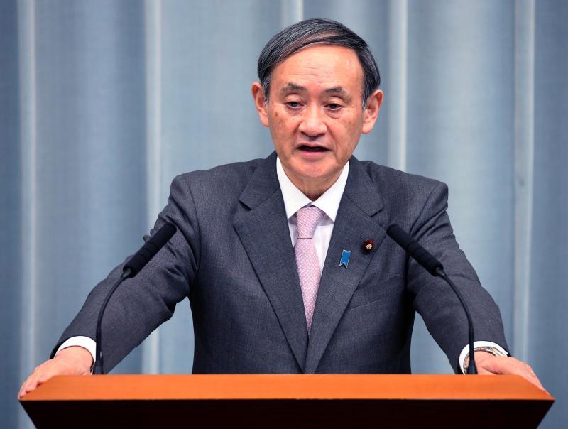 ▲日本內閣官房長官菅義偉。資料照。(圖/美聯社/達志影像)