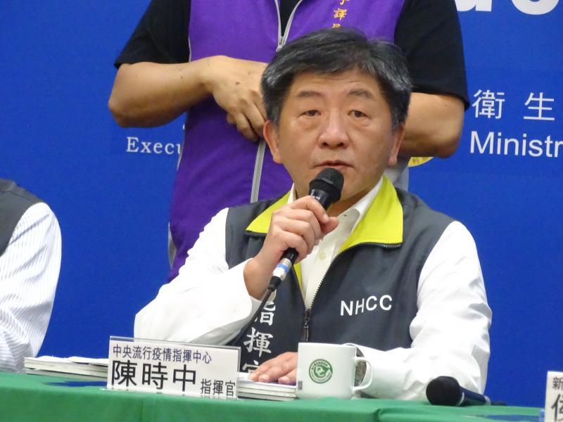 ▲中央流行疫情指揮中心指揮官陳時中。(圖/記者呂炯昌攝, 2020.3.7)