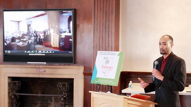 ▲ 台、美三所名校的視訊論壇,為時2小時的防疫交流,讓國際認識台灣的軟實力。(圖/高醫大提供)