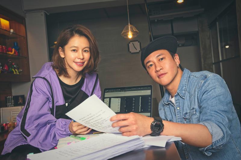 <br> ▲女神徐若瑄(左)跳脫演員身份首當製作人。(圖/頤東娛樂提供)