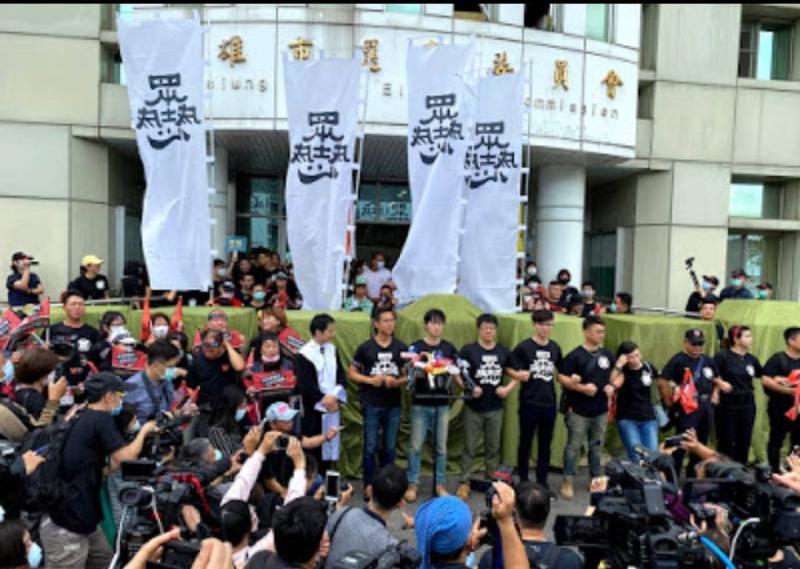 百日罷韓正式啟動40萬份連署送達 市府呼籲做好公防疫措