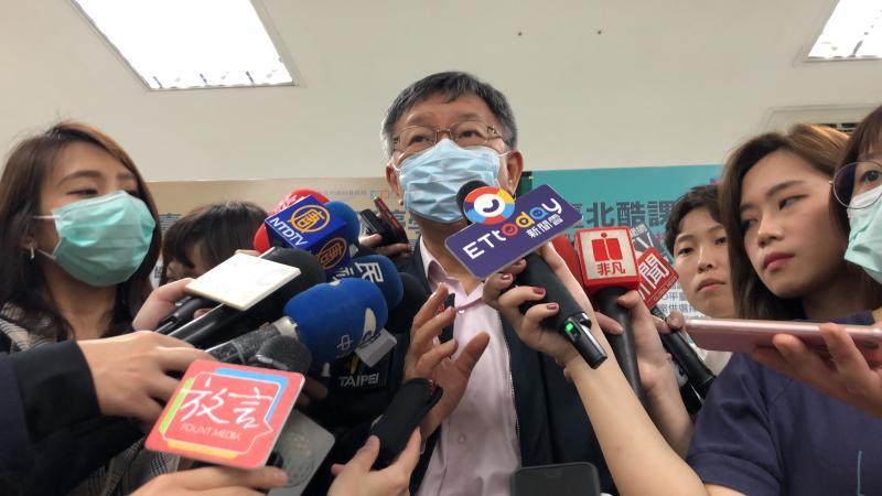 影/罷韓成功民眾黨將提候選人? 柯文哲保守:不太贊成