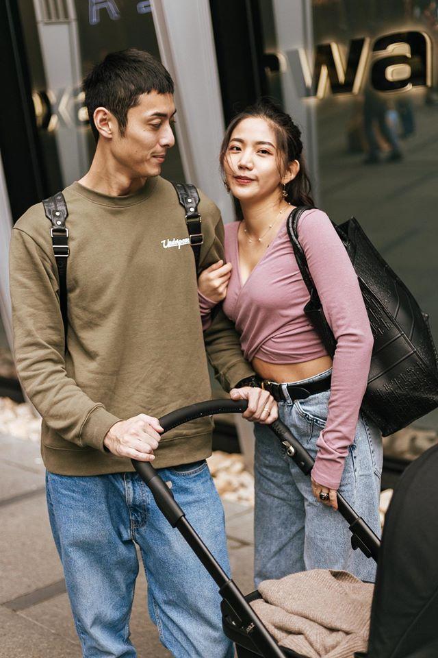 ▲陳艾琳與老公顏庭笙感情甜蜜。(圖/陳艾琳臉書)