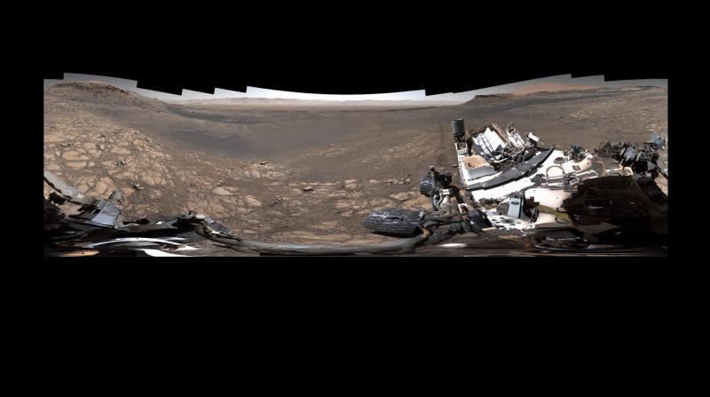 ▲原來火星長這樣? NASA 首曝 18 億像素畫面。(圖/翻攝自影片)