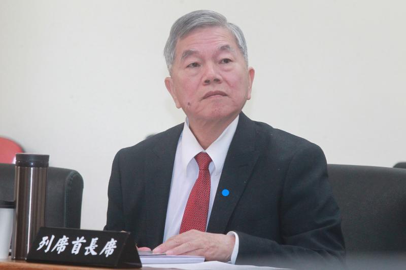 ▲經濟部長沈榮津。(圖/記者葉政勳攝 , 2020.03.11)