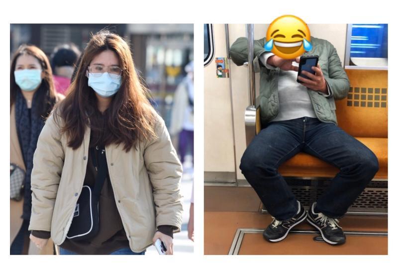 創意無限!電車大叔曝「迷你版口罩」網笑爆:情趣用品?