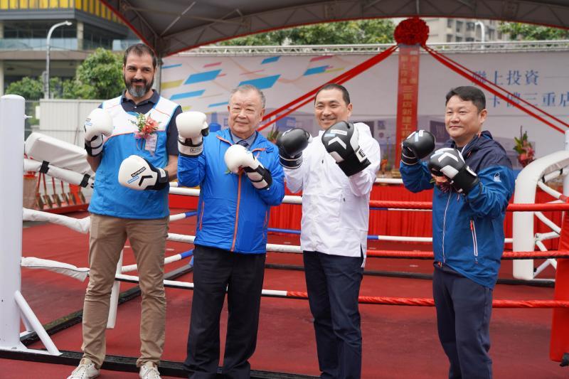強化運動產業鍊 連鎖運動品牌在三重開「雙北最大」門市
