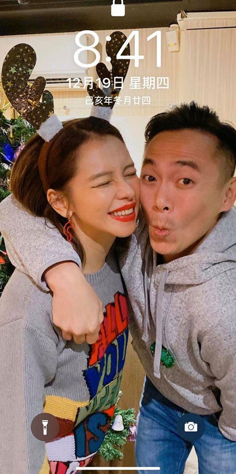 <br> ▲徐若瑄與丈夫李雲峰。(圖/徐若瑄臉書)