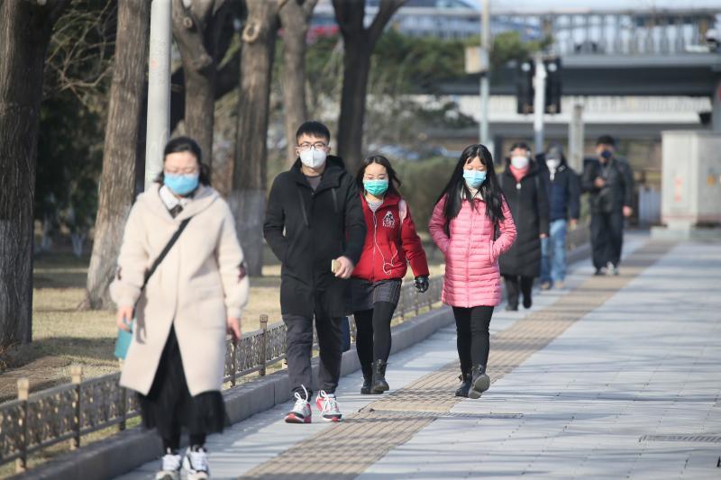 ▲圖為近日北京。(圖/美聯社/達志影像)
