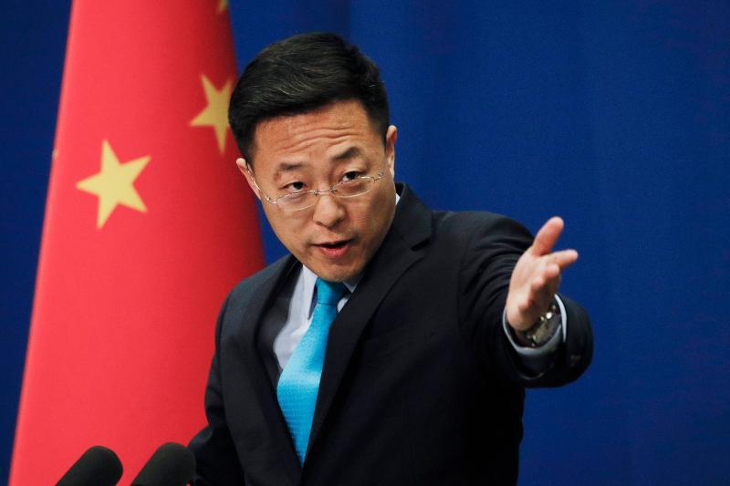 ▲中國外交部發言人之一趙立堅。資料照。(圖/美聯社/達志影像)