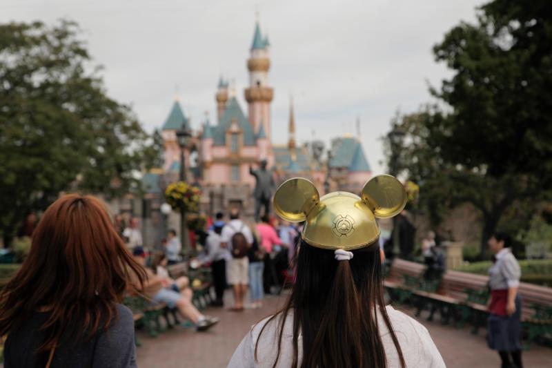 ▲位於美國加州的迪士尼樂園。資料照。(圖/美聯社/達志影像)