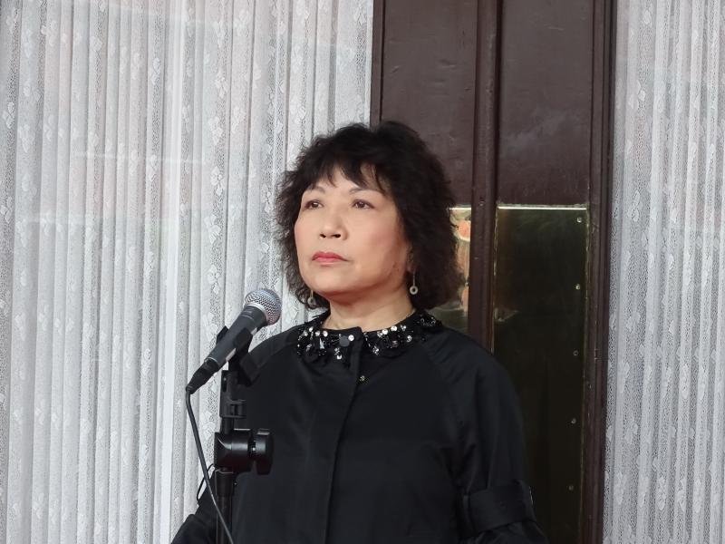 ▲國民黨立委葉毓蘭受訪。(圖/記者呂炯昌攝, 2020.3.13)