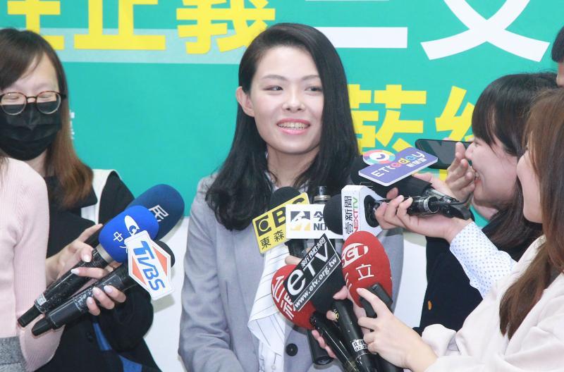 民眾黨立委高虹安。