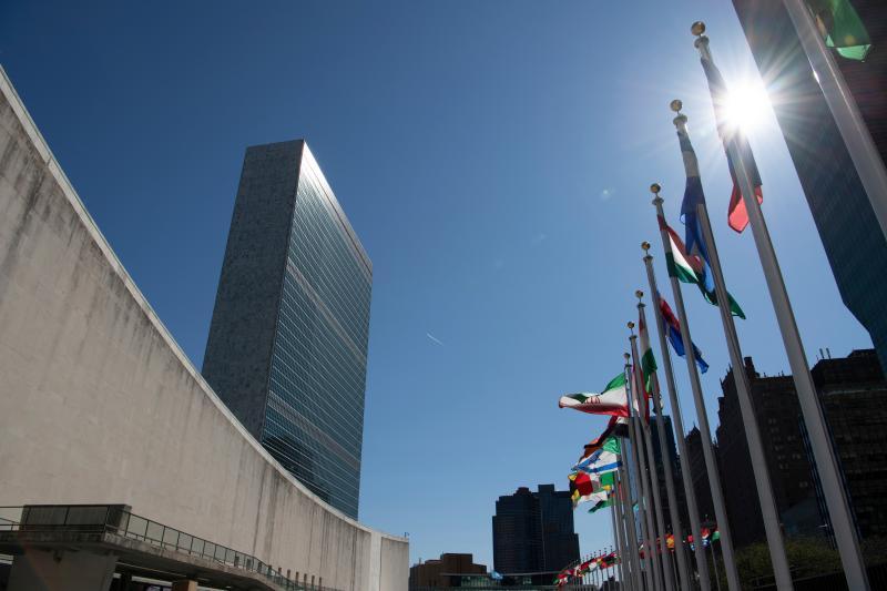 ▲聯合國組織位於美國紐約的總部。資料照。(圖/美聯社/達志影像)