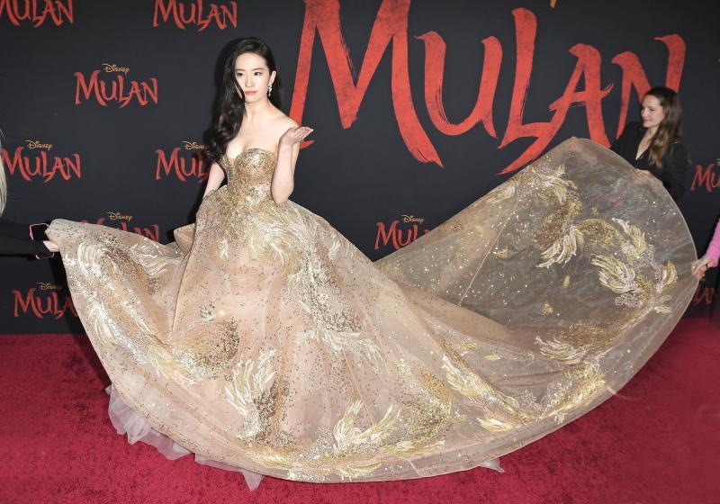 CA: Disney's MULAN World Premiere - Arrivals